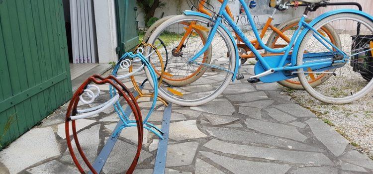 Porte-Vélos ile de ré peintre Plattier