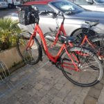 Porte- vélos rouge ile de ré