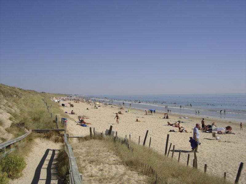 Le Bois-Plage en Ré la plage
